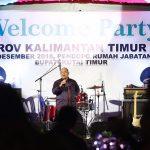 Welcome Party Porprov VI, Bupati Kutim Sambut Hangat Undangan