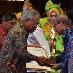 Kaltim, Berau, Malinau, Balikpapan, dan GMSSSKM Raih Penghargaan PUPR