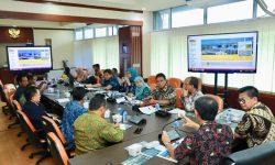 Gubernur Kaltara Bahas Lahan  HGU Swasta di KIPI Tanah Kuning Bersama Kementerian ATR/BPN