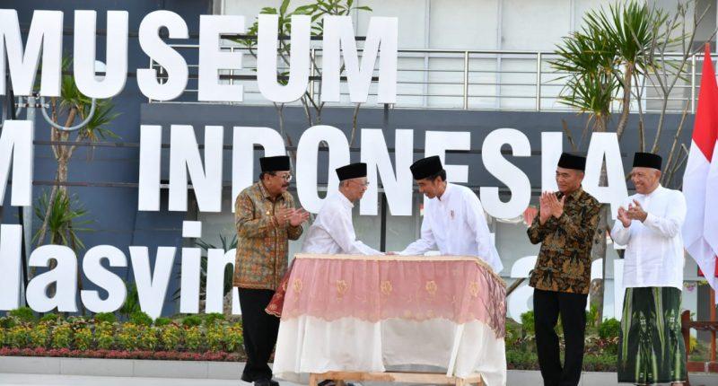 Ucapkan Terima Kasih pada Gus Solah, Presiden Jokowi Resmikan Museum Islam Indonesia