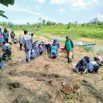 Mahasiswa Teknik Lingkungan Unmul Tanam Pohon di Karang Mumus
