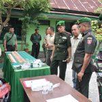 Cegah Narkoba di Lingkungan TNI AD, Korem 091 Tes Urine Dadakan