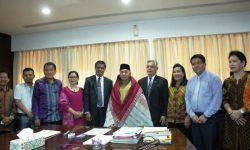 Terima HKBP Distrik Borneo, Isran Serukan Pentingnya Toleransi