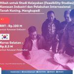 Pemprov Kaltara Dapat Hibah dari Korsel untuk KIPI Tanah Kuning-Mangkupadi