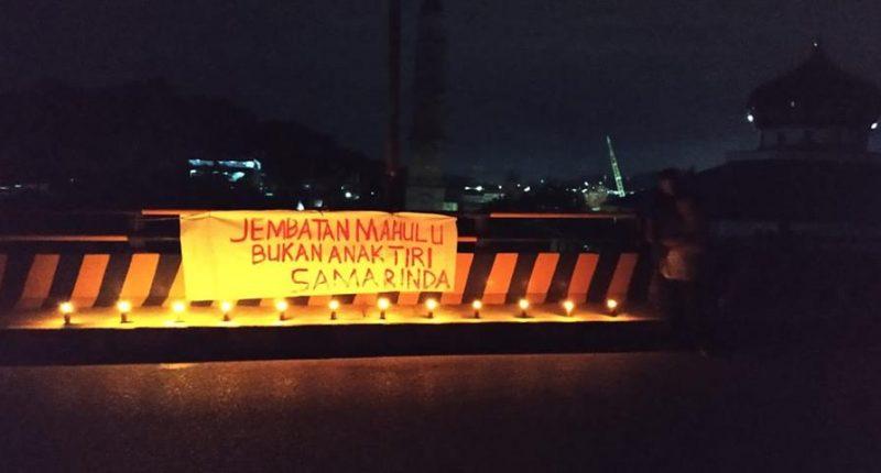 Tanggapi Keluhan Masyarakat, Besok 4 OPD Periksa Lampu Jembatan Mahulu