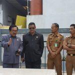 Komisi 3 DPRD Bontang Sidak Pengerjaan Landscap Kantor Lurah Bontang Baru