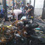 Tim Labfor Mabes Polri Periksa TKP Kebakaran Tewaskan 7 Jiwa