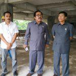 Komisi III DPRD Bontang Tegur Kontraktor Pembangunan Tempat Parkir di RSUD Taman Husada