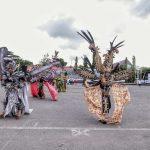 Pesut Mahakam, Hiburan Upacara HUT Kota Samarinda