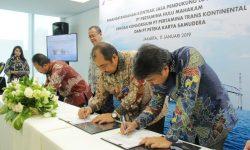 PHM-Pertamina Trans Kontinental Tanda Tangani Kontrak Rp109,6 Miliar