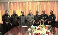 Ketua Pengadilan Tinggi Samarinda Pamit  ke Gubernur