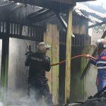 Satu Rumah Hangus Terbakar, Diduga Akibat Konsleting Listrik