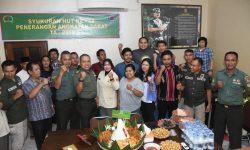 Syukuran Peringatan HUT Ke-68 Penerangan TNI-AD