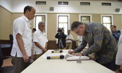 Ditandatangani Perubahan Kontrak Migas Duyung Menjadi Gross Split