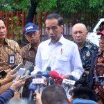 Presiden Jokowi Sudah Perintahkan Kapolri Tindak Teror Bom di Rumah Pimpinan KPK