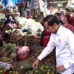 Jokowi Beli Kedondong dan Jeruk Nipis di Pasar Minggu