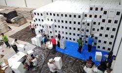 Pemilu 2019, KPU Samarinda Perlu 300 Orang Melipat Kertas Suara