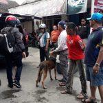 BNNP Kaltim Bawa Anjing Pelacak ke Sarang Narkoba