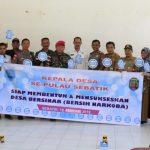 """Kepala Desa di Pulau Sebatik Deklarasikan """"Desa Bersih Narkotika"""""""