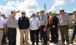 Menteri ESDM Tinjau Pabrik Pengolahan Semikokas di Bulungan