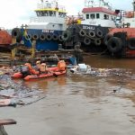 Basarnas Cari Dua Korban Hilang dalam Ledakan KM Amelia