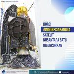 Satelit Nusantara Satu Diluncurkan, Internet Jangkau Seluruh Kepulauan