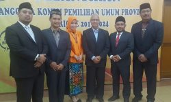 Rudiansyah Terpilih Ketua KPU Kaltim Periode 2019-2024
