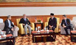 Gubernur Kaltara Bertemu TYT Negeri Sabah