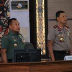 Pangdam VI/Mlw: Rapimda TNI-POLRI untuk Memupuk Rasa Persaudaraan