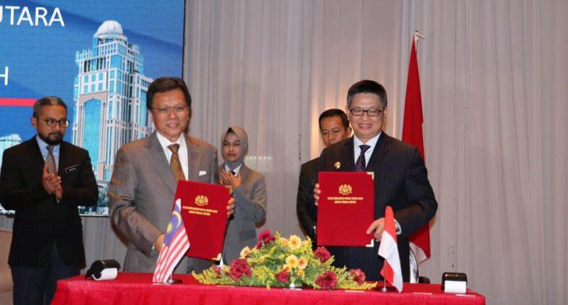 Indonesia-Malaysia Sepakat Kembangkan Wilayah Serudong-Sei Menggaris