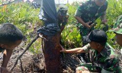 Temui Warga, TNI Berencana Meledakkan Mortir Jenis Bom di Sangatta