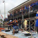 Kampanyekan Tertib Lalu Lintas, 170 Orang Ikut Lomba RC Boat di Sungai Mahakam