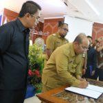 Pemerintah Hingga LSM Teken Deklarasi Kutim Sebagai Kabupaten Layai Anak