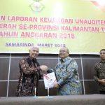 Bupati Ismuandar Serahkan LKPD ke BPK, Opitimistis Pertahankan Predikat WTP