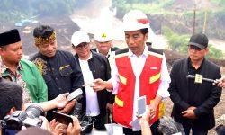 Kurangi Banjir, Presiden Jokowi Berharap Terowongan Nanjung di Bandung Rampung Akhir 2019