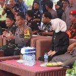 Jelang Pemilu 2019, Polres Nunukan Apel Gelar Pasukan