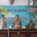 DPK Nunukan Selenggarakan Pelatihan Pengelolaan Kearsipan