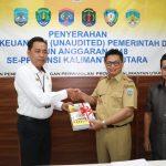 Gubernur Kaltara Serahkan LKPD Tahun Anggaran 2018 ke BPK-RI