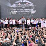 Resmikan Operasional MRT Jakarta, Presiden Jokowi: Jaga Kebersihan dan Harus Mau Antre