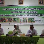 DKP3 Bontang Gelar Pelatihan Teknologi Perbanyakan Tanaman