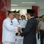 Lantik Walikotadan Wakil Walikota Tarakan, Gubernur: Jangan Beda-bedakan Masyarakat