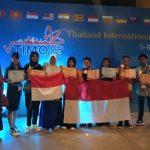 Olimpiade Matematika di Thailand, Siswa SMP Nunukan Raih Lima Medali