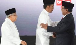 Debat Terakhir: Jokowi Fokus Tarik Milenial, Prabowo Konsisten Ambil Hati Nelayan dan Petani