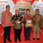 PT BPR Kutim Sabet Penghargaan Nasional Award Top BUMD 2019