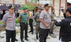 Polisi dan TNI Pastikan Surat Suara Aman di Gudang Logistik KPU Kukar