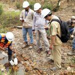 Polisi Ambil Sampel Dugaan Pencemaran Sungai Nangka Oleh PT Kutai Energi
