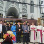 Gereja Katedral di Samarinda, Gubernur Isran Ingatkan Peran Awang Faroek