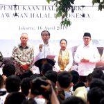 Jokowi Targetkan 5 Juta Kunjungan Wisata Halal ke Indonesia