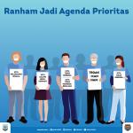 Ranham Jadi Agenda Prioritas