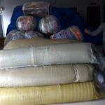 Bea Cukai Nunukan Sita Ratusan Karpet Asal Malaysia